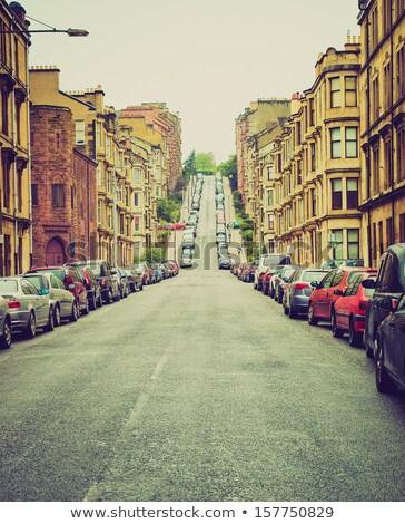 Glasgow hill Stock photo © claudiodivizia