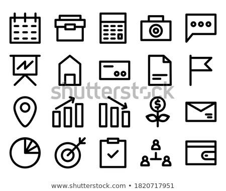 feiten · pijlen · hand · tekening · fiche · transparant - stockfoto © ivelin