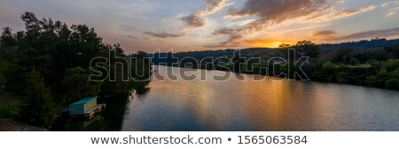 Rio vale sul montanha Austrália água Foto stock © lovleah