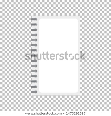 Product design template of notebook with no graphic  Stock photo © bluering