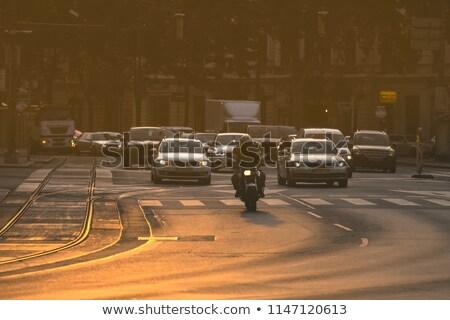 пробках · утра · дороги · бизнеса · город · шоссе - Сток-фото © lightpoet