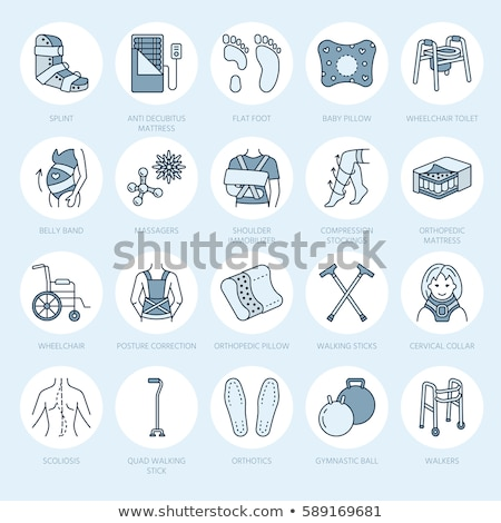 Treatment Broken Bone Orthopedic Bandage Vector Stock photo © pikepicture