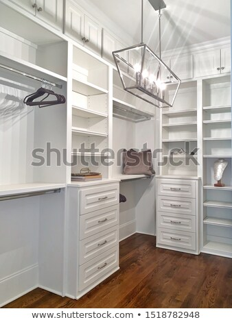 Spacious Walk-in Closet In Home Stock photo © feverpitch