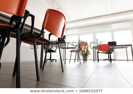 Jasne opuszczony biuro pokój wirusa nie ma ludzi Zdjęcia stock © Giulio_Fornasar