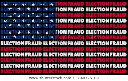 Election Fraud Stock photo © Lightsource