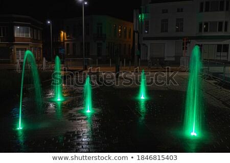 фонтан · Фонтан · Треви · Рим · воды · лошади · искусства - Сток-фото © ldambies