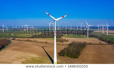 風力タービン 風力タービン 草原 ストックフォト © skylight