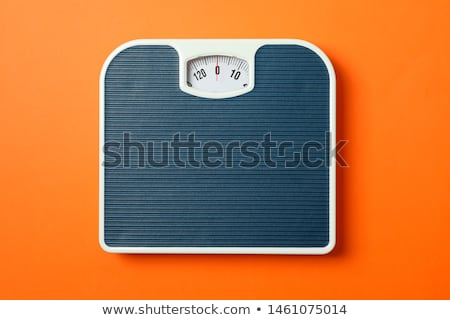 weighing on scale stock photo © leeser