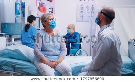 Médicos nombramiento médico medicina servicio hablar Foto stock © photography33