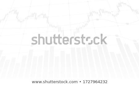Grafikon pénz tőzsde valuta szimbólumok kék Stock fotó © fenton