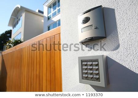villanyszerelő · ventillátor · doboz · plafon · munka · kód - stock fotó © lisafx