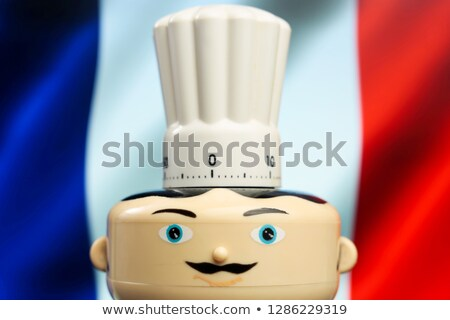 Chef waving a French flag Stock photo © photography33
