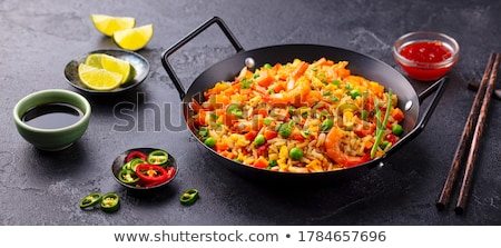 Rice pan Stock photo © joker