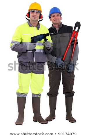 Portrait of a team of tradespeople Stock photo © photography33