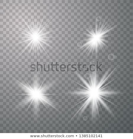 camera flash isolated on white stock photo © shutswis