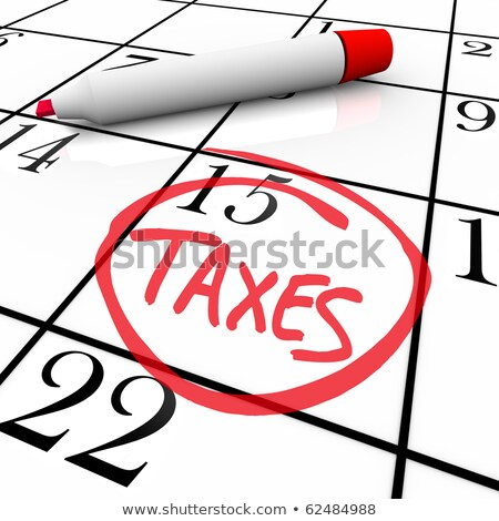 Big Tax Due Stock photo © 3mc