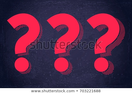 question mark strategy stock photo © lightsource