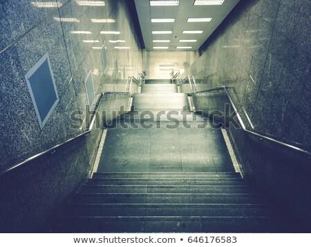 sala · metro · estación · negocios · pared · hombres - foto stock © paha_l