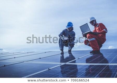 power generating installation stock photo © ssuaphoto
