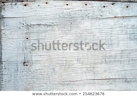 Dirty old weathered flaky white paint on a wall. Stock photo © latent