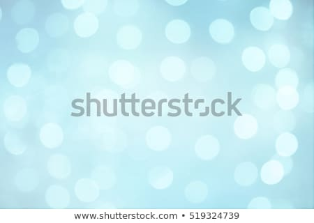 pale blue defocused lights light dots stock photo © wenani