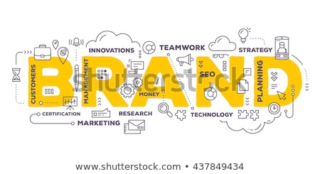 branding business concept stock photo © tashatuvango