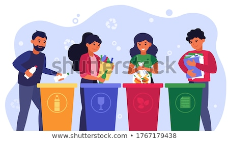 recycle garbage concept stock photo © lightsource