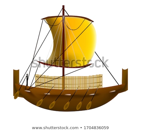 Ancient Roman Warships stock photo © MIRO3D