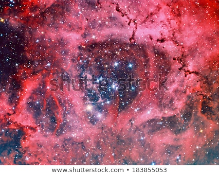 Stock photo: Rosette nebula in Monoceros NGC2244