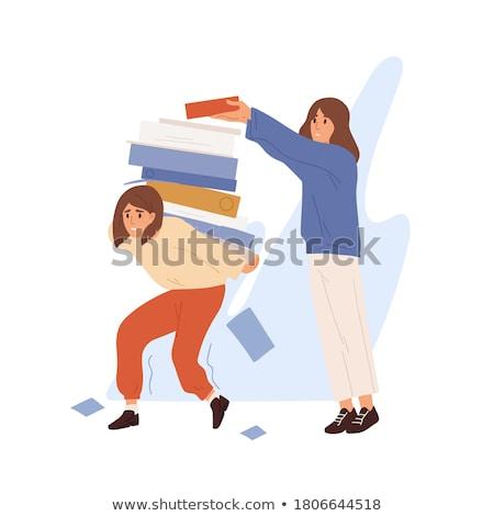 несправедливый словарь определение слово бумаги информации Сток-фото © devon