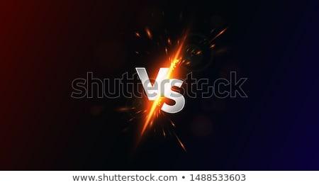 Combinar silhueta homens esportes clipe Foto stock © rudall30