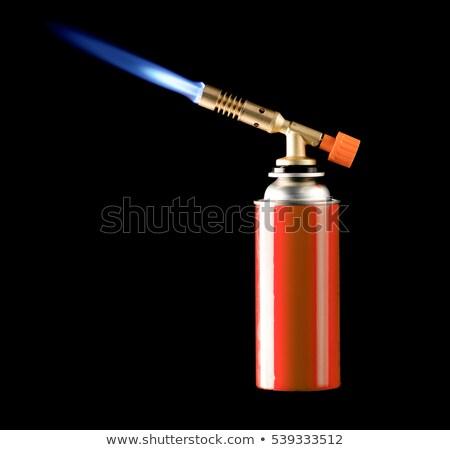 Isolated propane torch Stock photo © njnightsky