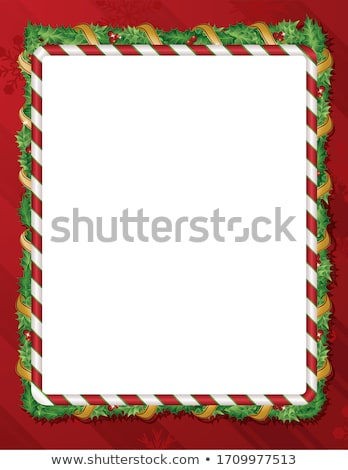 christmas border background stock photo © smileus