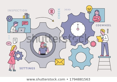 simple business people   check stock photo © nazlisart