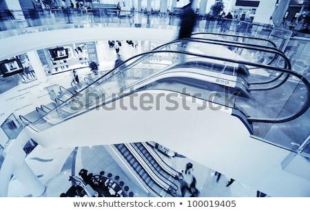 движущихся · эскалатор · бизнеса · дороги · путешествия · ног - Сток-фото © tarczas