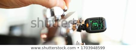 Chitarra clip tuning suono tecnologia Foto d'archivio © AEyZRiO