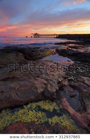 bányászat · Ausztrália · bánya · helyszín · teherautó · kő - stock fotó © lovleah