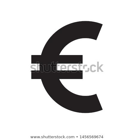 евро · знак · валюта · изолированный - Сток-фото © rizwanali3d