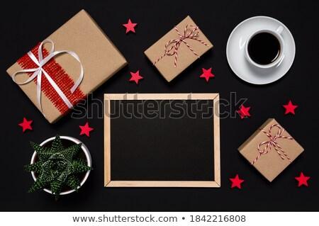 Vender mensagem secretária café papel fundo Foto stock © fuzzbones0