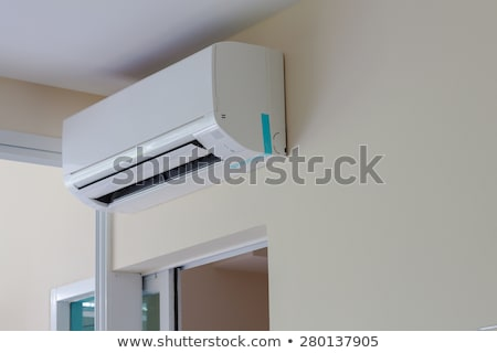 air conditioner install on wall for condo or meeting room Stock photo © FrameAngel