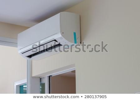 airconditioner · mobiele · kamer · cool · elektrische · lucht - stockfoto © frameangel