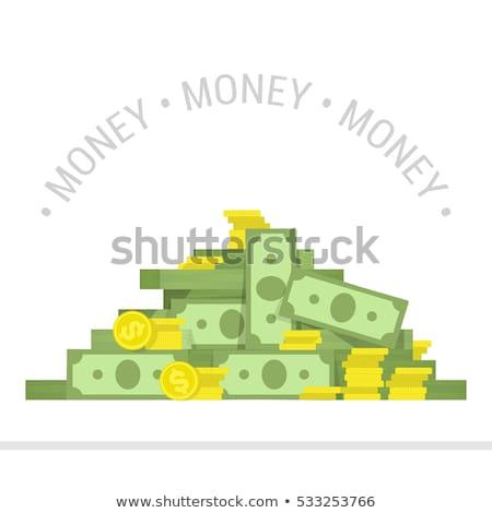 pénz · háttér · fény · papír · vásárlás · zöld - stock fotó © jarin13
