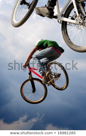 bike trick 2 stock photo © paha_l