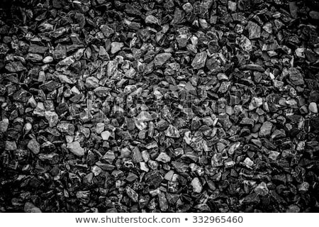 Fine and coarse gravel as background or texture Stock photo © Hermione