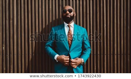 Cerca retrato maduro calvo barbado empresario Foto stock © feedough