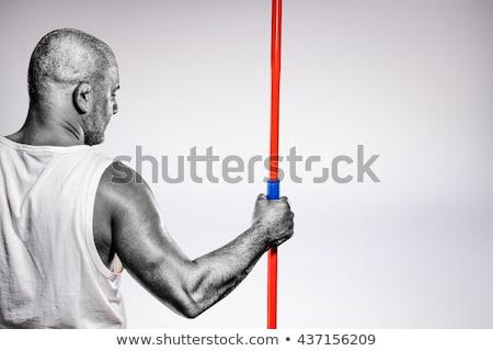 imagen · atleta · hombre · disco - foto stock © wavebreak_media