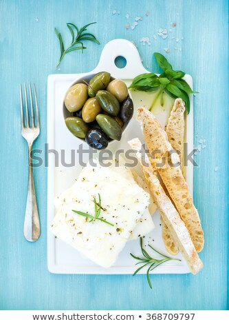 сыра · вилка · кусок - Сток-фото © Digifoodstock