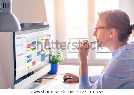 Busy Schedule Stock photo © Lightsource