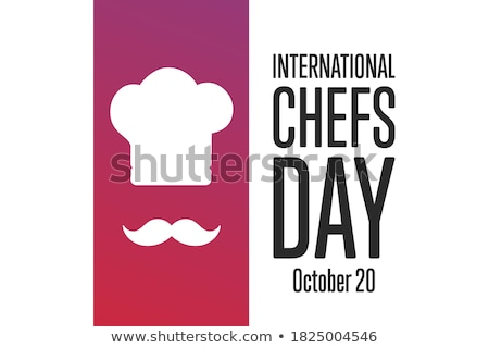 chef and banner stock photo © bluering