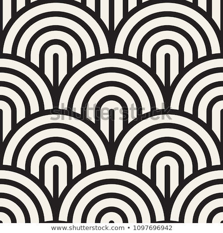 вектора бесшовный черно белые аннотация геометрический Сток-фото © CreatorsClub